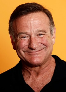 "Actor Robin WIlliams from the film ""World's Greatest Dad"" poses for a portrait in Los Angeles on Friday, Aug. 14, 2009.  (AP Photo/Matt Sayles)"