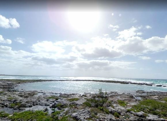 shoreline in cuba