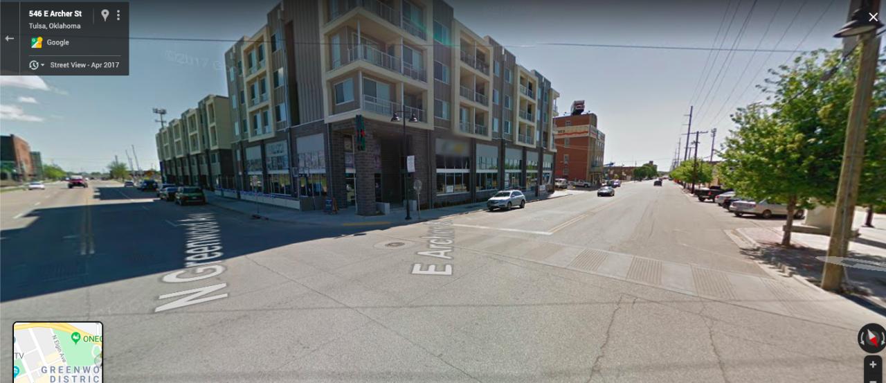 Greenwood Avenue, Tulsa, Oklahoma | Google Maps